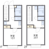 1K Apartment to Rent in Komae-shi Floorplan