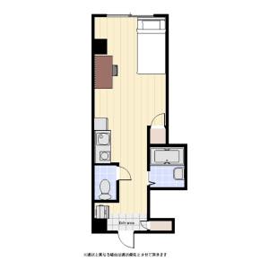 1R Mansion in Midori - Sumida-ku Floorplan