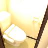 1K Apartment to Rent in Yachiyo-shi Toilet