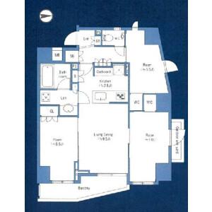 3LDK {building type} in Higashinippori - Arakawa-ku Floorplan