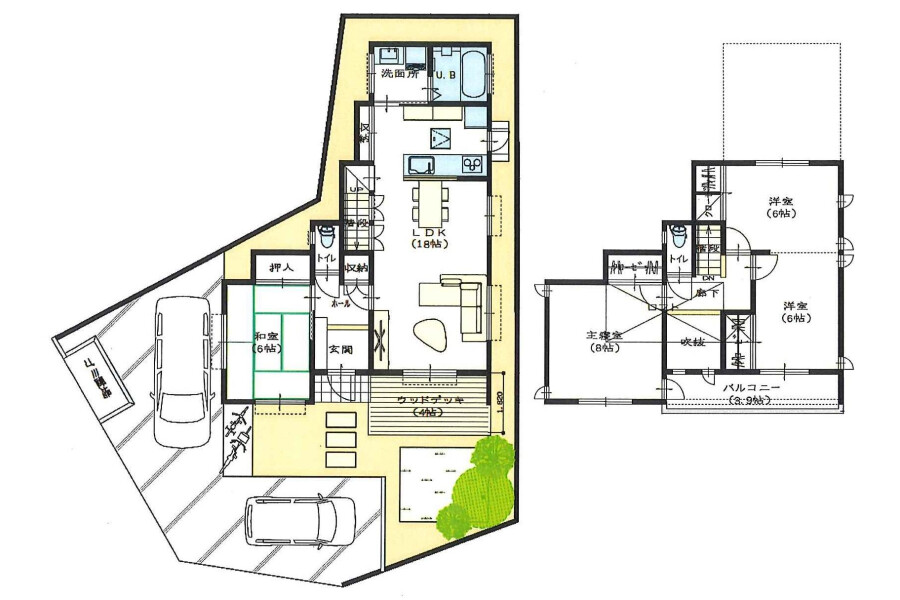 4LDK House to Buy in Yachimata-shi Floorplan