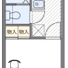 1K Apartment to Rent in Osaka-shi Hirano-ku Floorplan