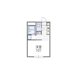 1K Mansion in Oriono - Osaka-shi Sumiyoshi-ku Floorplan