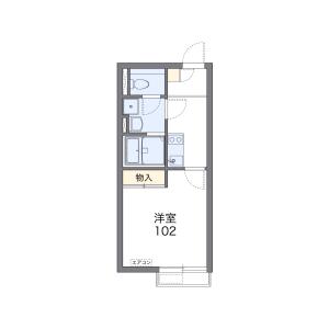 1K Apartment in Zempukuji - Suginami-ku Floorplan