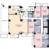 4LDK Apartment to Rent in Meguro-ku Floorplan
