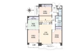 4LDK Apartment in Kitakazan ohayashicho - Kyoto-shi Yamashina-ku