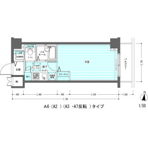 1K Mansion in Yaguchi - Ota-ku Floorplan