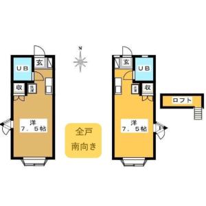 Whole Building {building type} in Katakuramachi - Hachioji-shi Floorplan