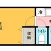 在埼玉市大宮区内租赁1K 公寓大厦 的 楼层布局