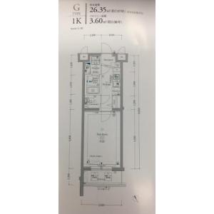 1K {building type} in Komone - Itabashi-ku Floorplan