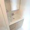 1LDK Apartment to Rent in Koto-ku Washroom