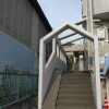 1K Apartment to Rent in Yokohama-shi Kanagawa-ku Building Entrance