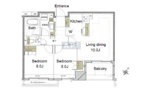 2LDK Apartment in Nihombashihamacho - Chuo-ku