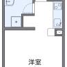 1K アパート 稲沢市 内装