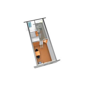 1K Apartment in Higashikawaguchi - Kawaguchi-shi Floorplan