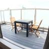 2LDK Apartment to Rent in Shinjuku-ku Balcony / Veranda