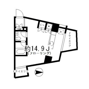 1R Mansion in Todoroki - Setagaya-ku Floorplan