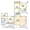 3SLDK House to Rent in Kita-ku Floorplan