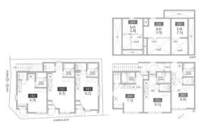 Whole Building Apartment in Kamijujo - Kita-ku