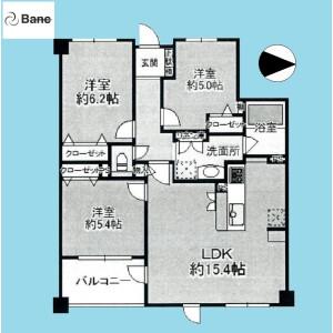 3LDK {building type} in Niihori - Edogawa-ku Floorplan