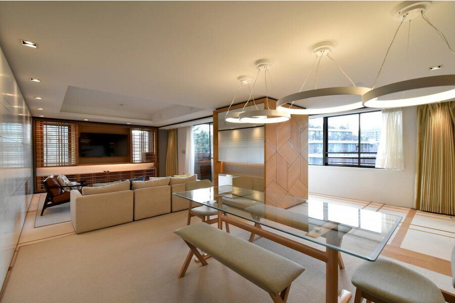 3LDK Apartment to Buy in Shibuya-ku Living Room
