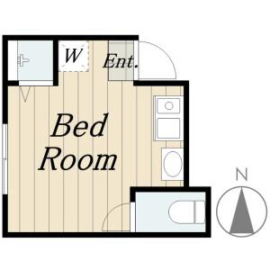 1R Apartment in Arai - Nakano-ku Floorplan