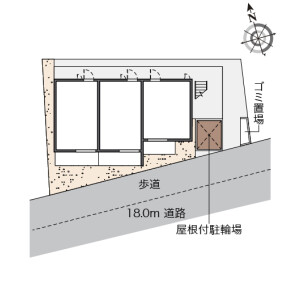 1K Apartment in Shiraitodai - Fuchu-shi Floorplan