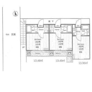 Whole Building {building type} in Higashioizumi - Nerima-ku Floorplan