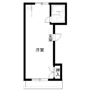 1R Mansion in Shimochiai - Shinjuku-ku Floorplan