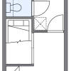 1K Apartment to Rent in Kaizuka-shi Floorplan