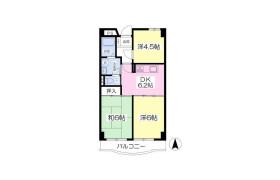 3DK Mansion in Tagara - Nerima-ku