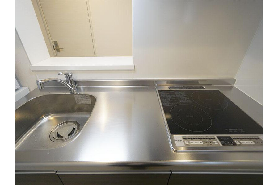 1LDK Apartment to Rent in Ota-ku Kitchen
