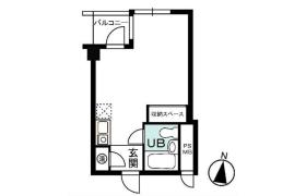 港區西麻布-1R{building type}