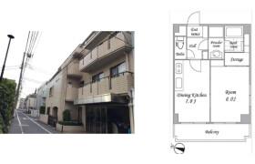 1DK {building type} in Shimomeguro - Meguro-ku