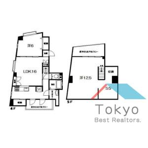 2SLDK Mansion in Koenjiminami - Suginami-ku Floorplan