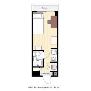 1R Mansion in Omorinishi - Ota-ku Floorplan