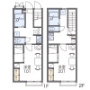 1K Apartment to Rent in Yamatokoriyama-shi Floorplan