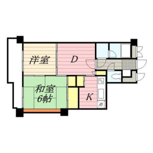 2DK Mansion in Kameido - Koto-ku Floorplan