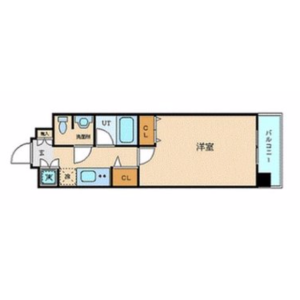 1K {building type} in Hommachi - Shibuya-ku Floorplan