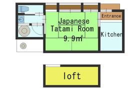 1K House in Idecho - Kyoto-shi Higashiyama-ku