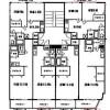 2DK Apartment to Rent in Osaka-shi Nishinari-ku Floorplan