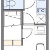 1K Apartment to Rent in Fukuyama-shi Floorplan