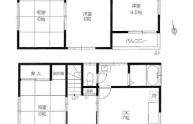4DK {building type} in Oizumigakuencho - Nerima-ku