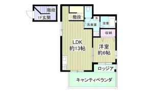 1LDK Apartment in Seta - Kawasaki-shi Takatsu-ku