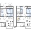 在名古屋市熱田區內租賃1K 公寓 的房產 房間格局