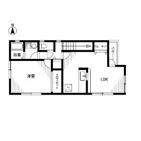1LDK Mansion in Yanaka - Taito-ku Floorplan