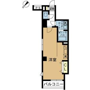 1R Mansion in Takinogawa - Kita-ku Floorplan