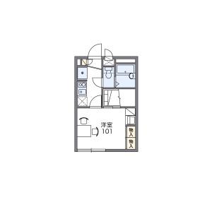 1K Apartment in Okuramachi - Machida-shi Floorplan