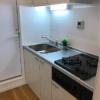 在新宿区购买1R 公寓大厦的 厨房