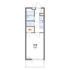 1K Mansion in Shiohama - Kawasaki-shi Kawasaki-ku Floorplan
